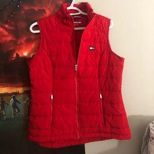 Tommy Hilfiger jacket vest in red